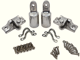 Fixture Hardware in Stainless Steel